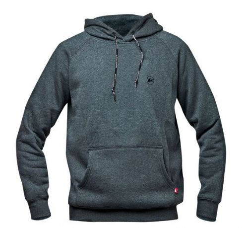 Rooster Hoodie Grey Unisex Sizes